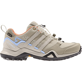 adidas TERREX Swift R2 GTX Zapatillas Outdoor Mujer, trace khaki/collegiate brown/glossy blue
